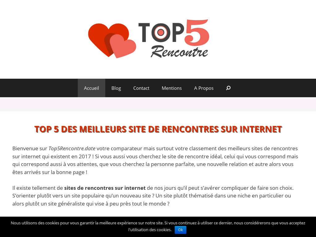 top5rencontre comparatif des meilleurs sites de rencontres. Black Bedroom Furniture Sets. Home Design Ideas