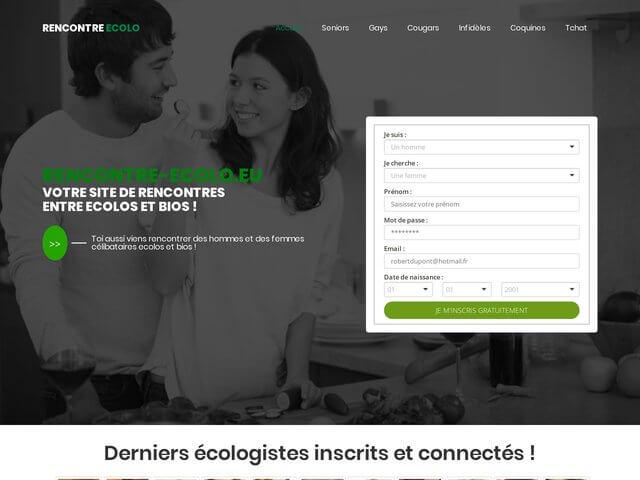 Rencontre-ecolo - Site de rencontre pour ecolo