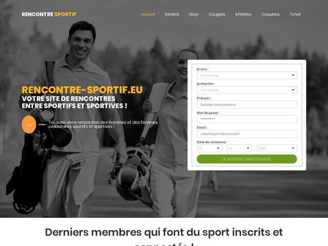 Rencontre-sportif - Site de rencontre pour sportif